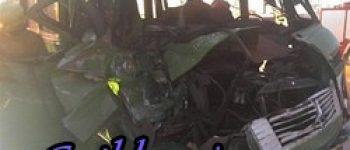 2 کشته و 6 زخمی ، تصادف در بزرگراه خرمآباد- اندیمشک